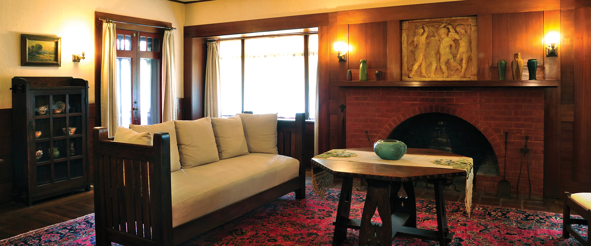 Marston House Living Room