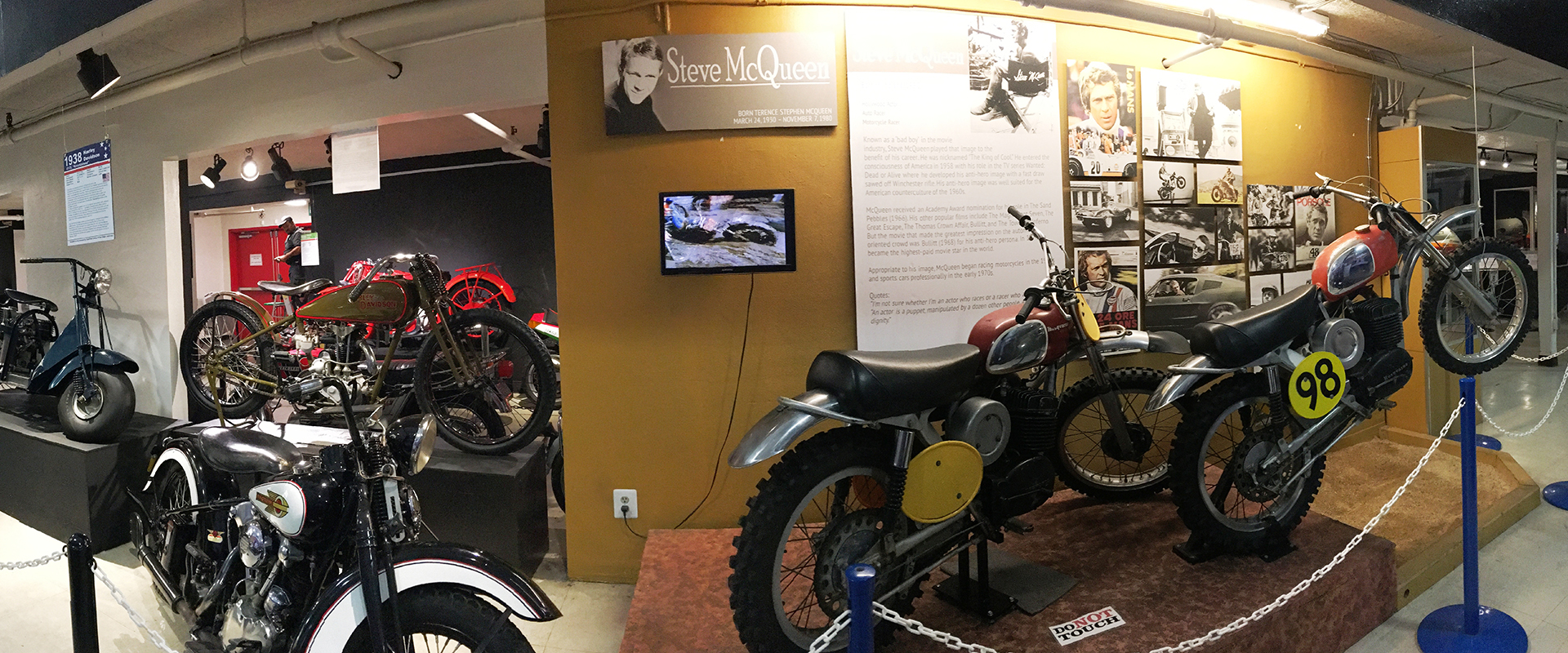 Automotive Museum motorcycles