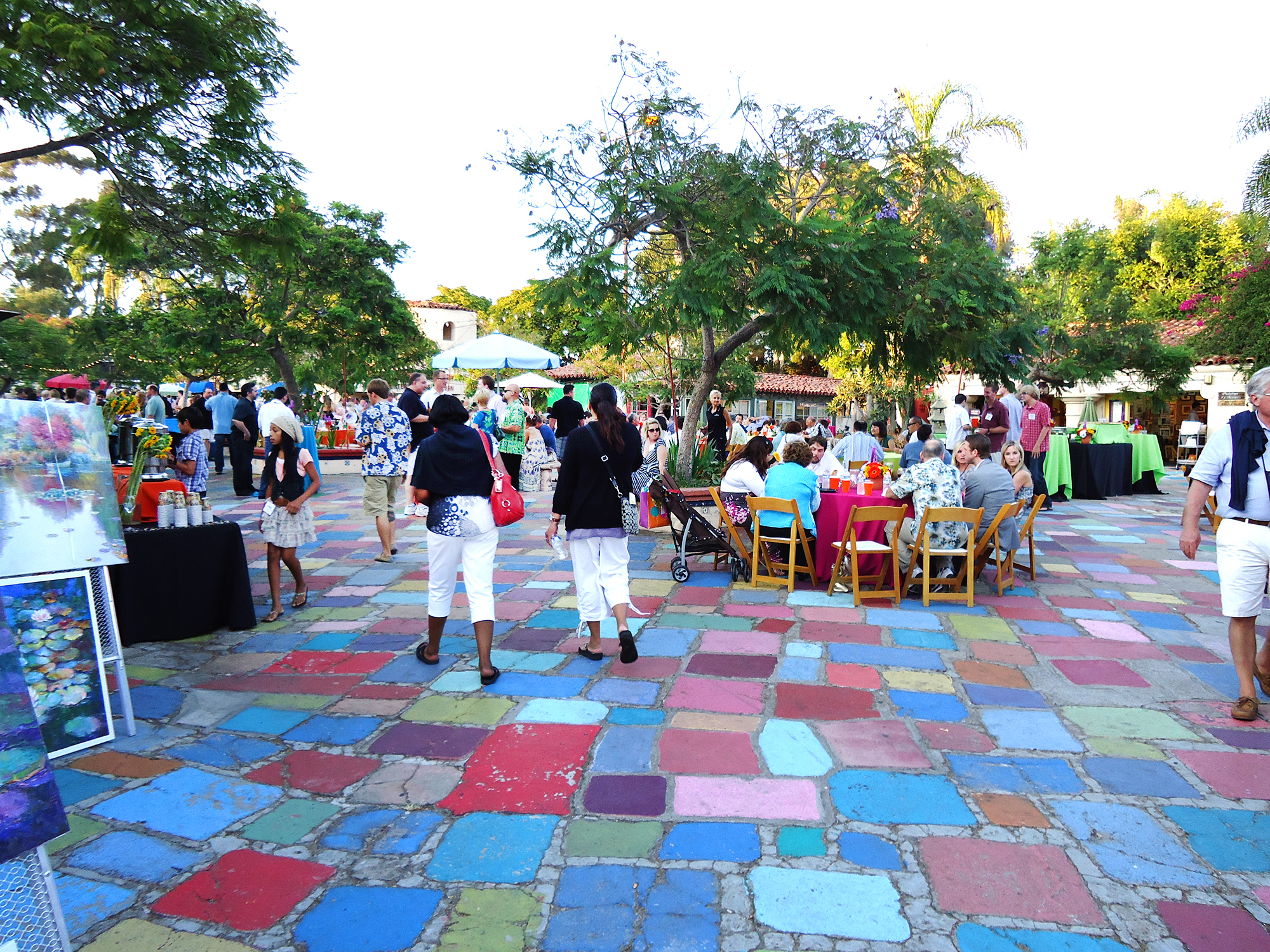 Event at the Spanish Village Art Center