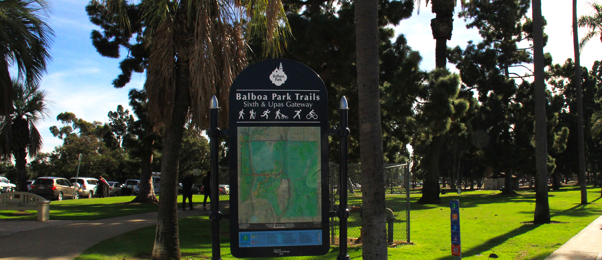6th and Upas Trail Gateway