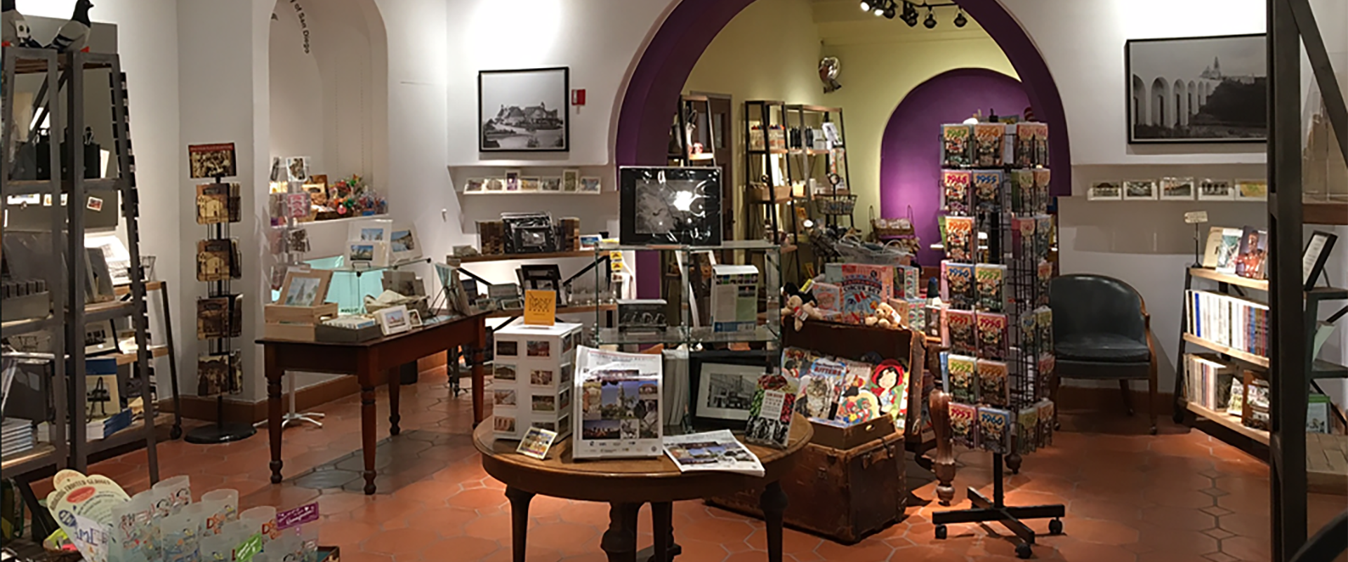 San Diego History Center Gift Shop