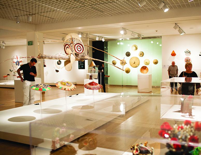Mingei Exhibit space
