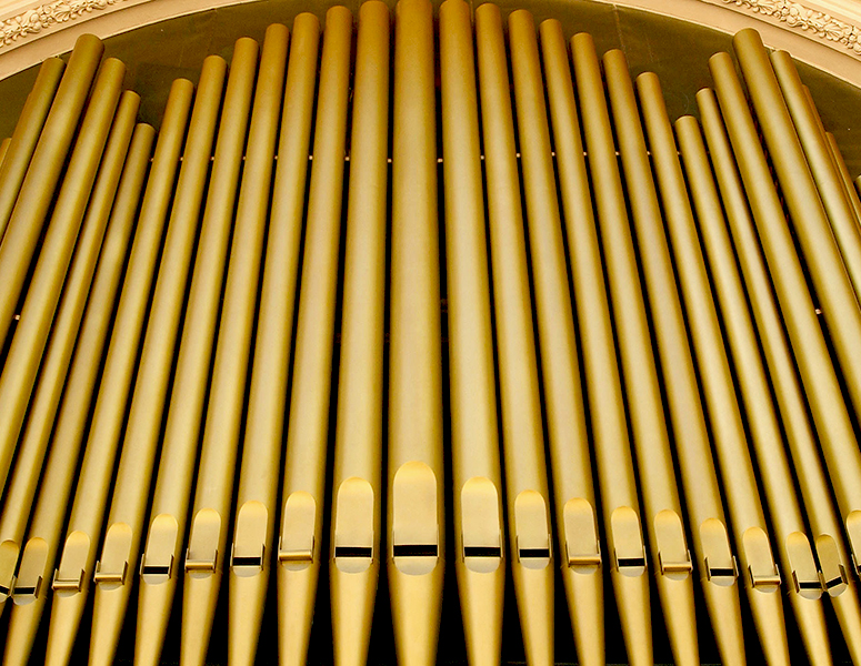 Organ Pavilion pipes
