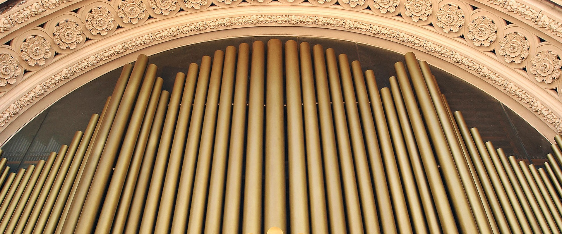 The Pipe Organ at Spreckels Organ Pavilion at Balboa Park