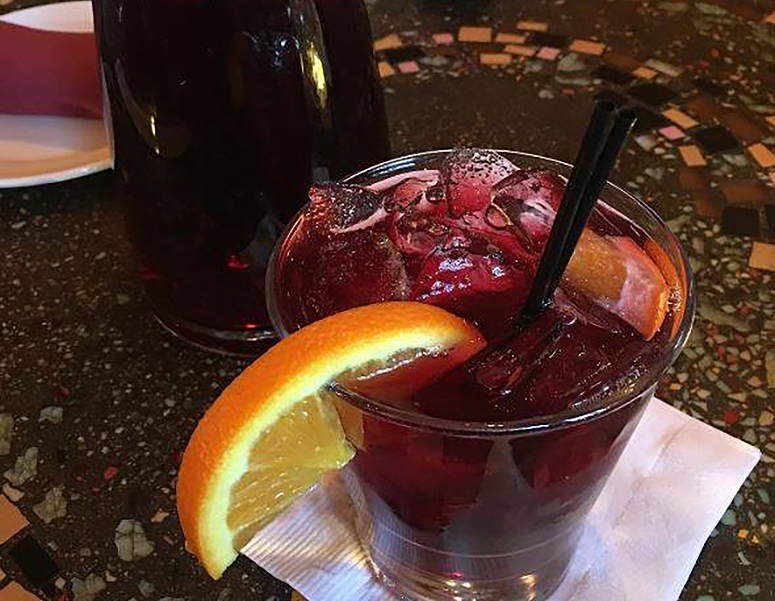The Prado sangria