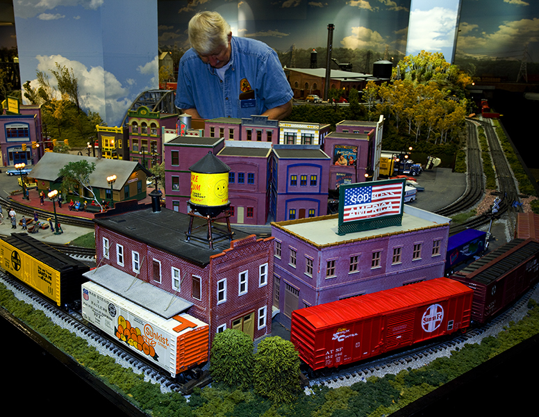 Model Railroad Museum layout