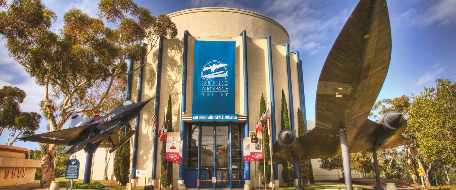 San Diego Air and Space Museum entrance