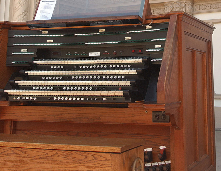 The historic Spreckels Organ