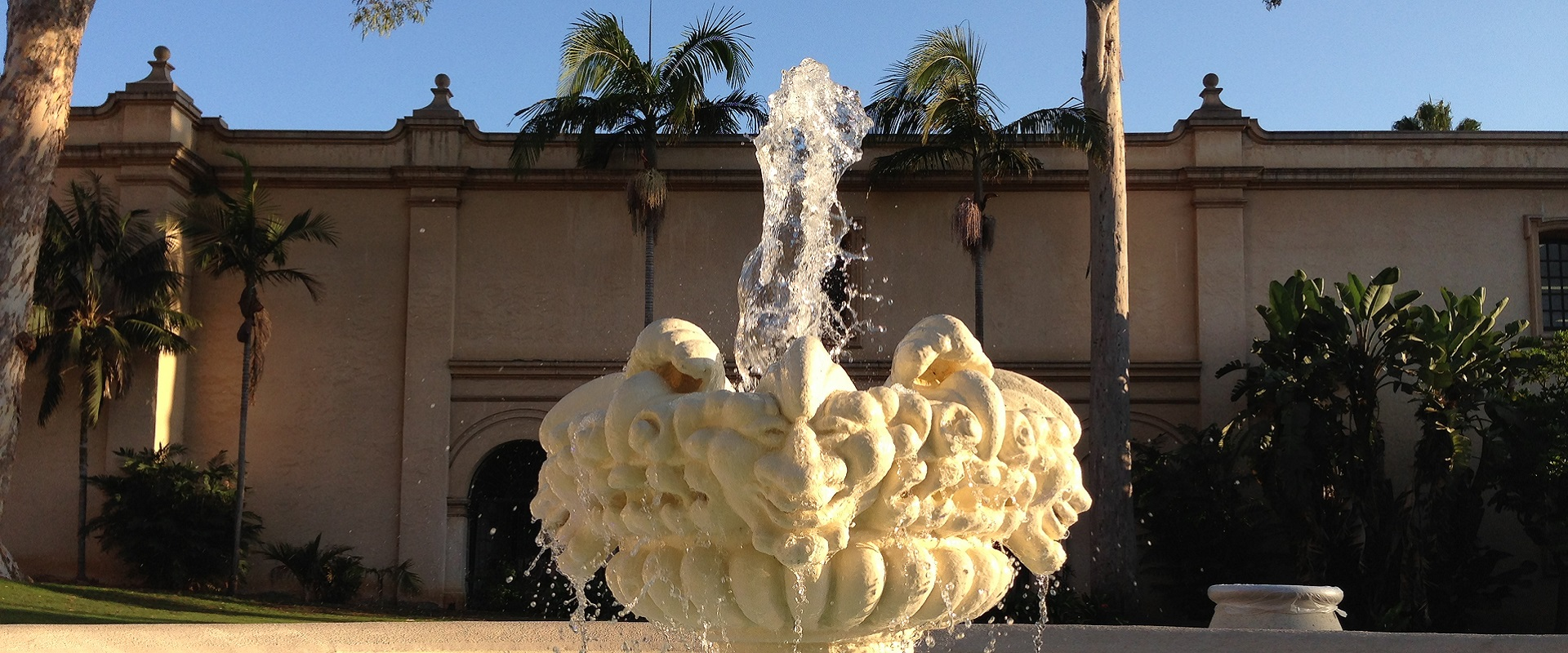 Fountain in Balboa Park