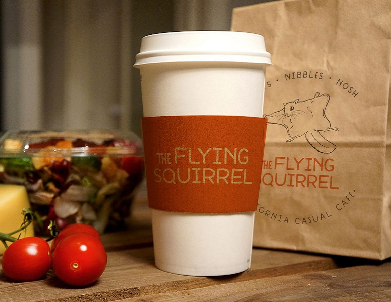 Coffee at the Flying Squirrel