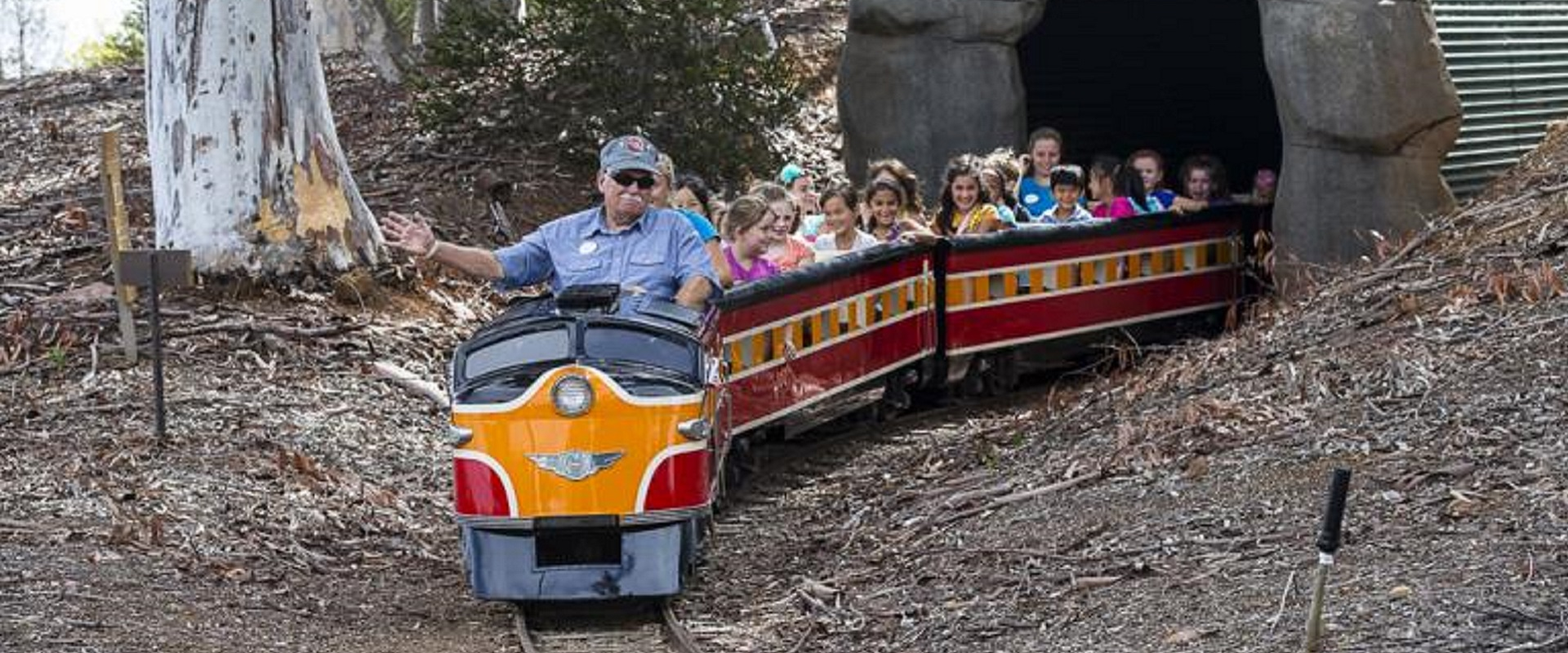 Miniature Train near the San Diego Zoo