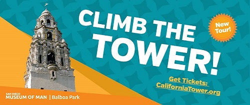 Climb the Tower at the San Diego Museum of Man