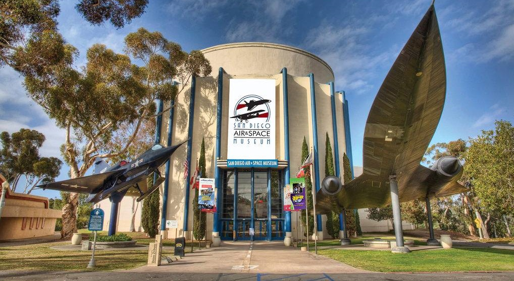 Front Entrance to the San Diego Air & Space Museum