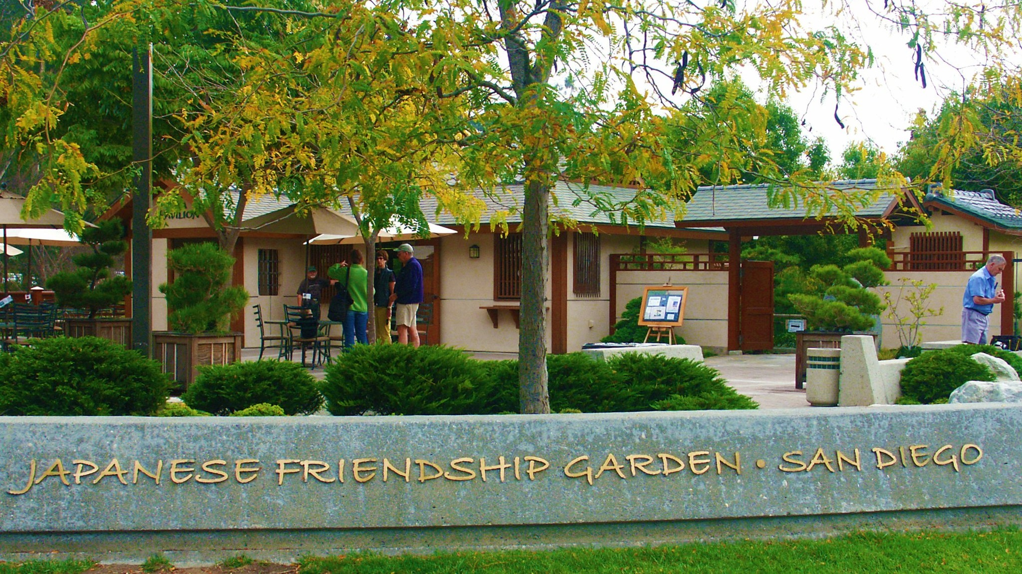 Photo of Japanese Friendship Garden Front Entrance