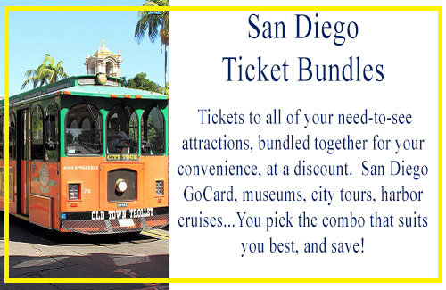 San Diego Attraction Bundles