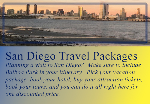 Balboa Park Vacation Packages