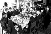 Ladies dining in the House of Hospitality in 1935 at Balboa Park