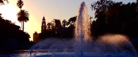 Bea Evanson Fountain at Balboa Park