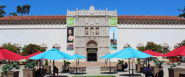 San Diego Museum of Art Entrance