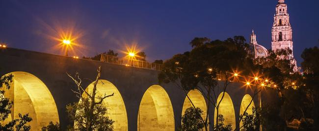 Cabrillo Bridge and California Tower