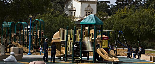 Playground at Pepper Grove at Balboa Park